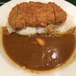 カレーショップ C&C - 三元豚ロースかつカレー(650円)