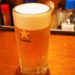 煮こみ - 生ビール