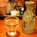 煮こみ - 喜多屋 純米吟醸 寒山水