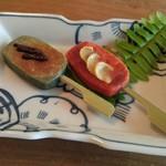 美菜食膳 古嶋 - ★生麩の田楽