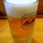 焼肉1丁目雅 - ◆生ビール