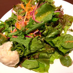 銀座イタリアン Fabi's  - セットのサラダ