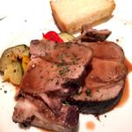 銀座イタリアン Fabi's  - イベリコ豚の赤ワイン煮込み