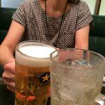 千房 - H.29.7.10.昼 ハイボール 450円税別 vs 生ビール 530円税別 de 乾杯♪