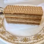 フランス菓子 カド - モカケーキ