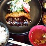 安土 - 【味噌カツ膳】(デザート付)890円