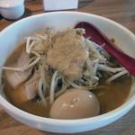 味噌麺処 楓 - 味噌ラーメン+味玉