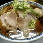 ラーメン大河 - 【ラーメン + 味玉】¥650 + ¥100