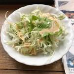 リトルブッダ - サラダ。       美味し。