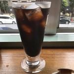 リトルブッダ - アイスコーヒー。       美味し。