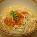 そばきり すずき - 料理写真:トマトとチーズのお蕎麦