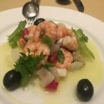 70914749 - 魚介のサルピコン スペイン版シーフードサラダ