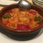 70914776 - タラ・エビ・ズワイガニのトマト煮