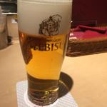 ヱビスバー - エビス生ビール525円