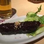 ヱビスバー - 味噌串カツ200円