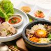 韓国料理 水刺齋 - 料理写真:石焼ビビンパ&韓方ミニポッサム