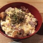 カッシーワ - わさび親子丼①
