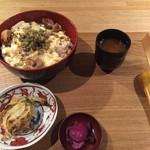 カッシーワ - わさび親子丼②