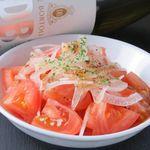 トマトのミニサラダ