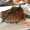 キッチン ナカ - 料理写真:<渥美の味処むらかみ>より見た瞬間に美味しそう に見えました。ステーキソースは自分で付けて 食べれる様にして頂きました。(^^)