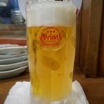 パーラー 小やじ - オリオン生ビール