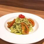ステーキ&ビア ビストロ・パプリカ - トマトとバジルの冷製パスタ