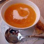レストラン ルスティク - 季節の野采のスープ