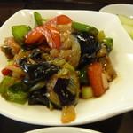 70921669 - 鶏肉と夏野菜炒め