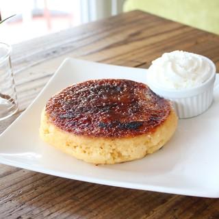 バオバブの実を使ったスーパーフルーツパンケーキ