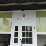 ソレイユカフェ - 玄関