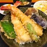 海鮮亭 いっき - ジャンボ海老天丼