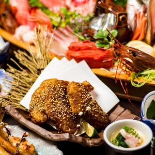 国産最高級・阿波尾鶏使用!食材にこだわった宴会コースが大好評