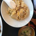 台北榕園 - 炒飯    豚汁