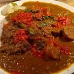 もりやま屋 - 完熟トマトと夏野菜のカレー