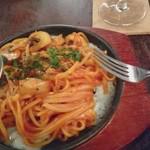 70929219 - 「ほんとのスパゲッティナポリタン目玉焼きと 」