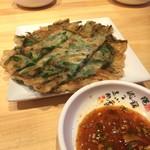 明洞純豆腐 - ニラチヂミ