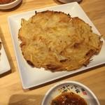 明洞純豆腐 - ジャガイモチヂミ