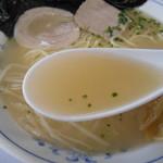 南京ラーメン 黒門 - ちょっと透明感あるスープ♡