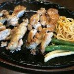 鳥料理 ゆふ - 料理写真:鉄板焼き