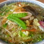 ヒグマ - 野菜塩ラーメン 780円
