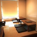 うどん小屋 柔製麺 - 内観写真:2階席(貸し切り可)