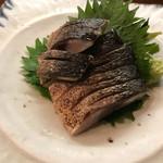酒菜の大きに - 炙り〆鯖