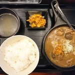 いかり食堂 - 2017年8月 定食 650円