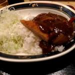 串鳥 - カツカレー。