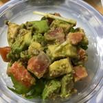 オープンオーブン - サーモンとアボカドのサラダ