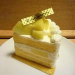 70934575 - マスクメロンのショートケーキ