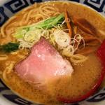 製麺処 蔵木 - 濃厚魚介とんこつらーめん 太麺