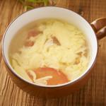さっぱり玉子スープ