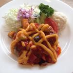 レストラン ミューズ - ハンバーグ野菜の煮込みソース(税込1000円)