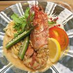 いっかく食堂 天神店 - 【夏季限定】トムヤム冷麺 ご飯付き 980円。